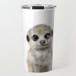 Meercat baby animal Travel Mug
