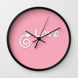 This Way Love Wall Clock