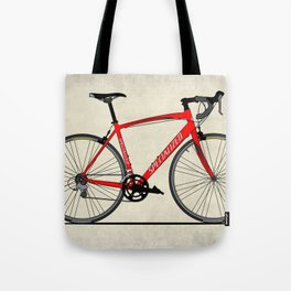 Specialized Racing Road Bike BicycleRoad Cycling Tote Bag