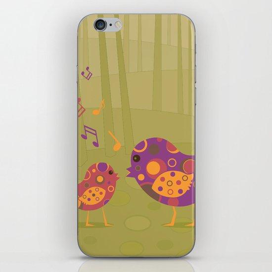 Bird Duet iPhone Skin