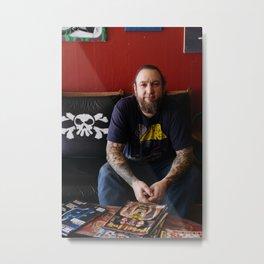 Artists In Jackson: Andy McCrory Metal Print
