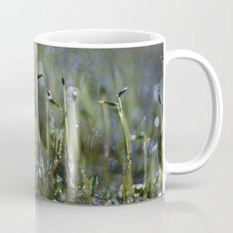 dewy moss sprouts Coffee Mug