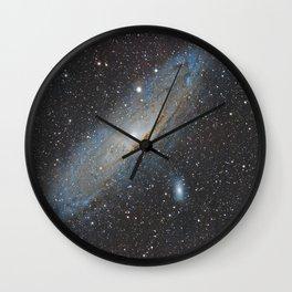Andromeda Galaxy. Wall Clock