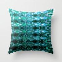 sail Throw Pillows featuring Sail by SensualPatterns