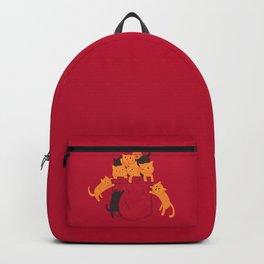 Pocket Cats Backpack