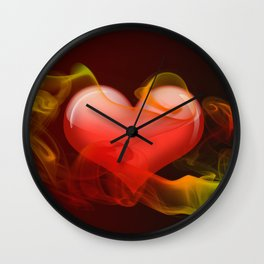 Heartbeat II Wall Clock