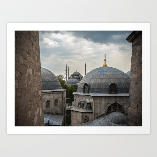 ayasofya, istanbul, turkey Art Print