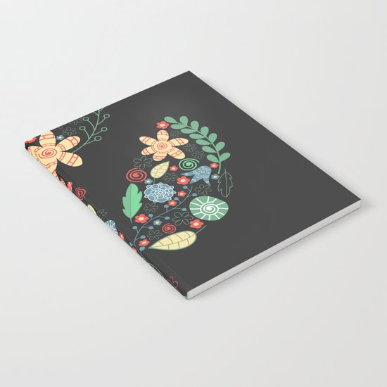 Bright flower Notebook