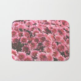 Chrysanthemum Autumn Flowers Photography Bath Mat