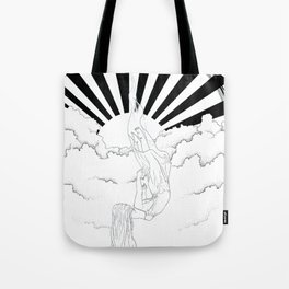 After rain comes sunshine Tote Bag