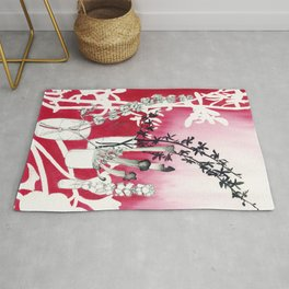 Simply Red Rug