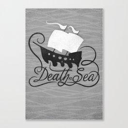 DEATH AT SEA Canvas Print