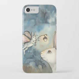 Night Bunny Fairy iPhone Case