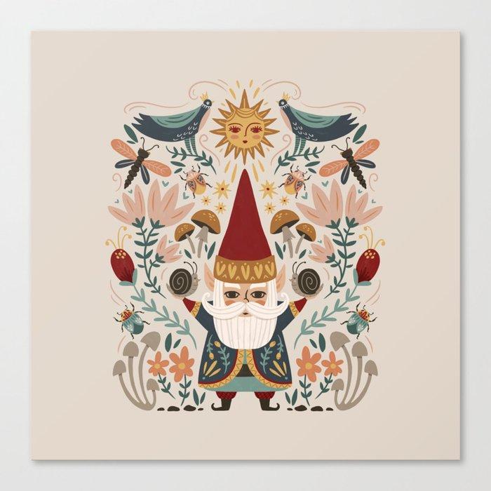 Gnome Life Leinwanddruck