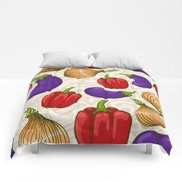 Cute vegetable pattern Comforters