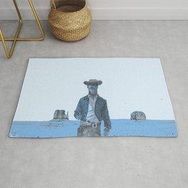 Blue Cowboy Rug