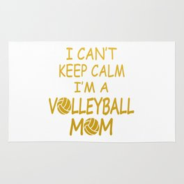 I'M A VOLLEYBALL MOM Rug