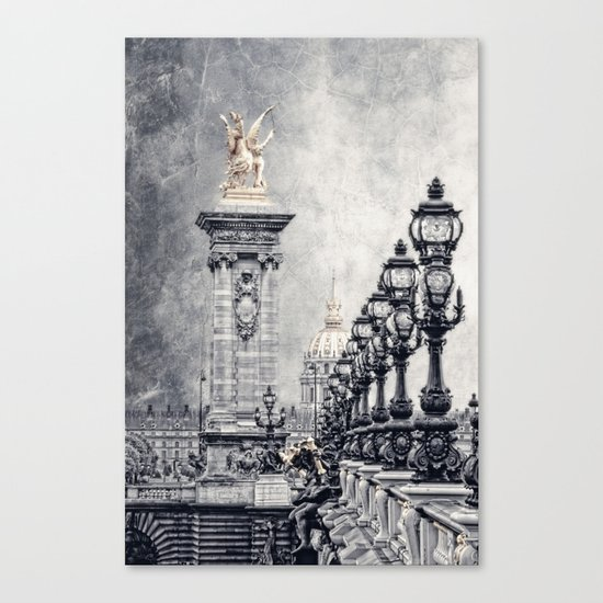 Paris pompous Canvas Print