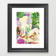 DO YOU BELIEVE IN FAYRIES? Framed Art Print