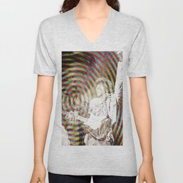 Are you experienced moire Unisex V-Neck