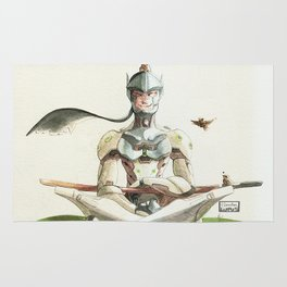 Genji Watercolour Rug
