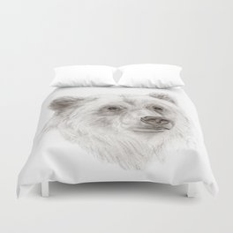 Grizzly :: A North American Brown Bear Duvet Cover