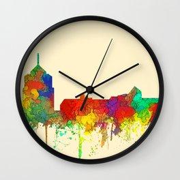 Roanoke, Virginia Skyline - SG Wall Clock