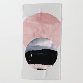 Minimalism 31 Beach Towel