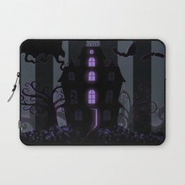 Be it ever so Haunted, there's no place like Home - Dark Gray Laptop Sleeve