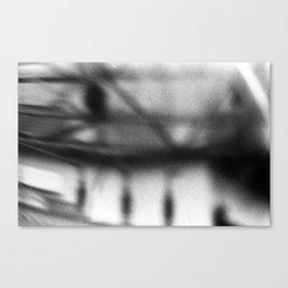 Drop a Line Canvas Print