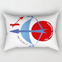Sagittarius - Archer Rectangular Pillow