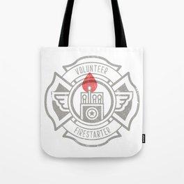 Volunteer Firestarter Tote Bag