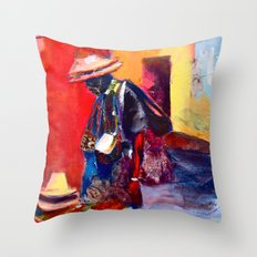 Hats for sale Throw Pillow