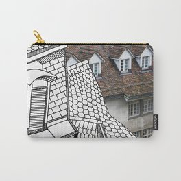 Rooftop Part II Pastiche  Carry-All Pouch