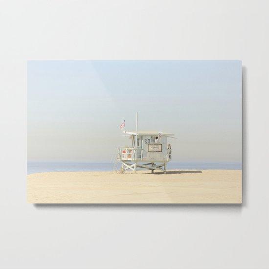 NEVER STOP EXPLORING VENICE BEACH No. 23 Metal Print