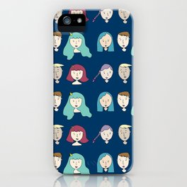 Friends are our Lifelines iPhone Case