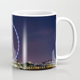 Singapore Flyer and Night Scenery. Coffee Mug