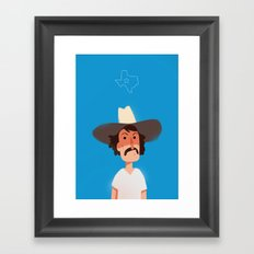Lone Star Framed Art Print