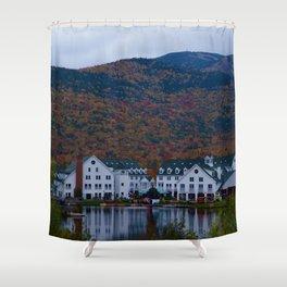 a new hampshire autumn Shower Curtain