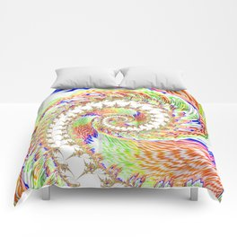 A Twist Of Colour Comforters