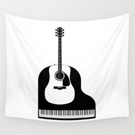 Piano and Guitar Wall Tapestry