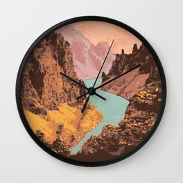 Tuktut Nogait National Park Wall Clock