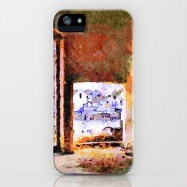 Sassi di Matera: home iPhone Case