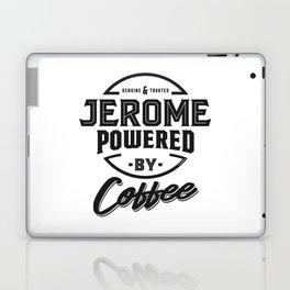 Jerome Powered by Coffee Laptop & iPad Skin