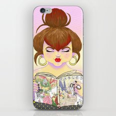 Girls read comics too, Fables iPhone & iPod Skin