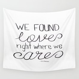 Thinking Out Loud 1 Wall Tapestry