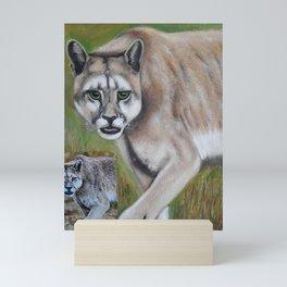 Felino Mini Art Print