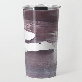 Gray claret abstract Travel Mug