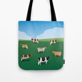 Dairy Breeds // Hillside Tote Bag