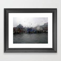 HMK Vancouver River Taxi Framed Art Print